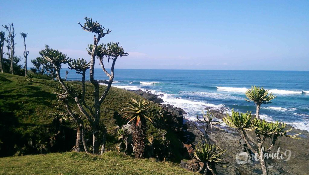 This is in Coffee Bay, on the west coast of South Africa.