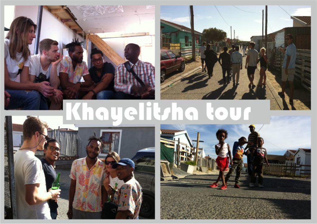 township tour in Khajelitsha