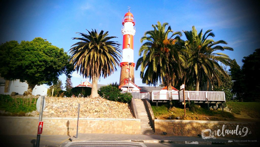 Swakopmund is a city on the coast of Namibia with Germans, german architecture and german food.