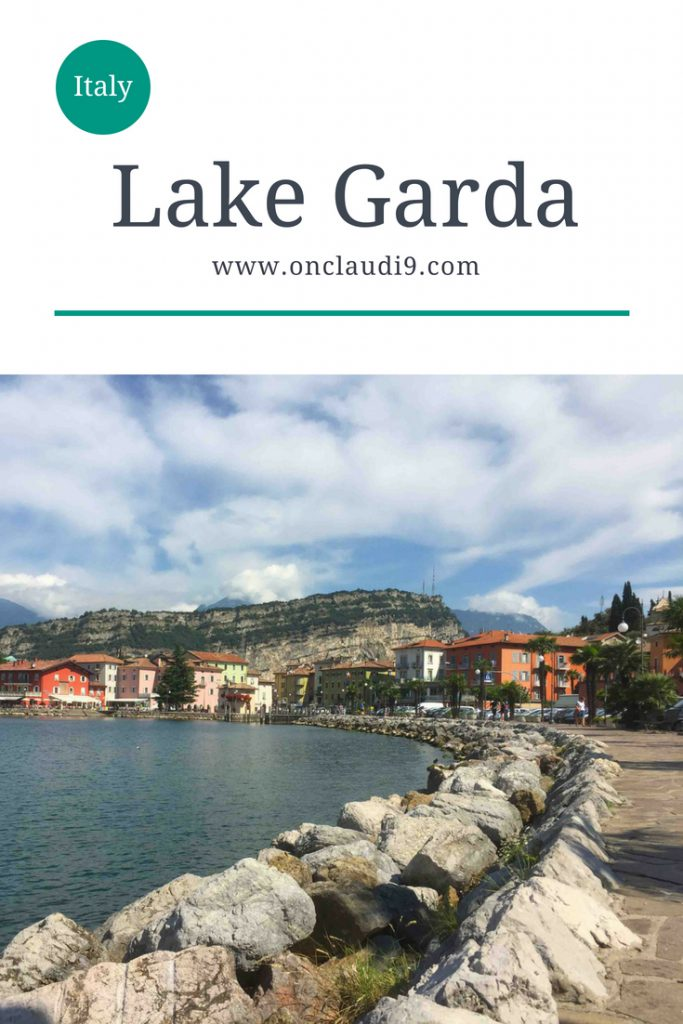 This is Lake Garda in Italy.
