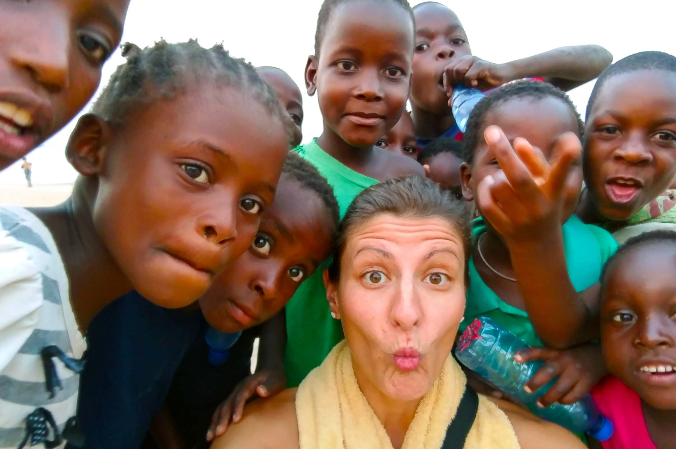 These are kids from Malawi.