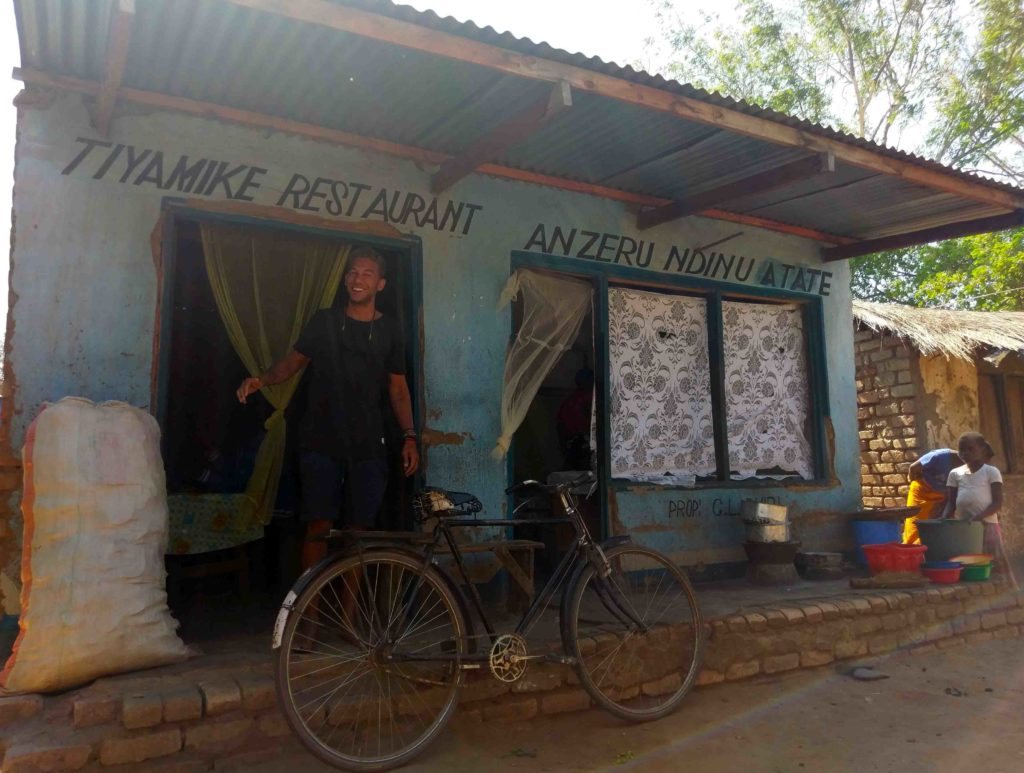 This is a local restaurant in Malawi.