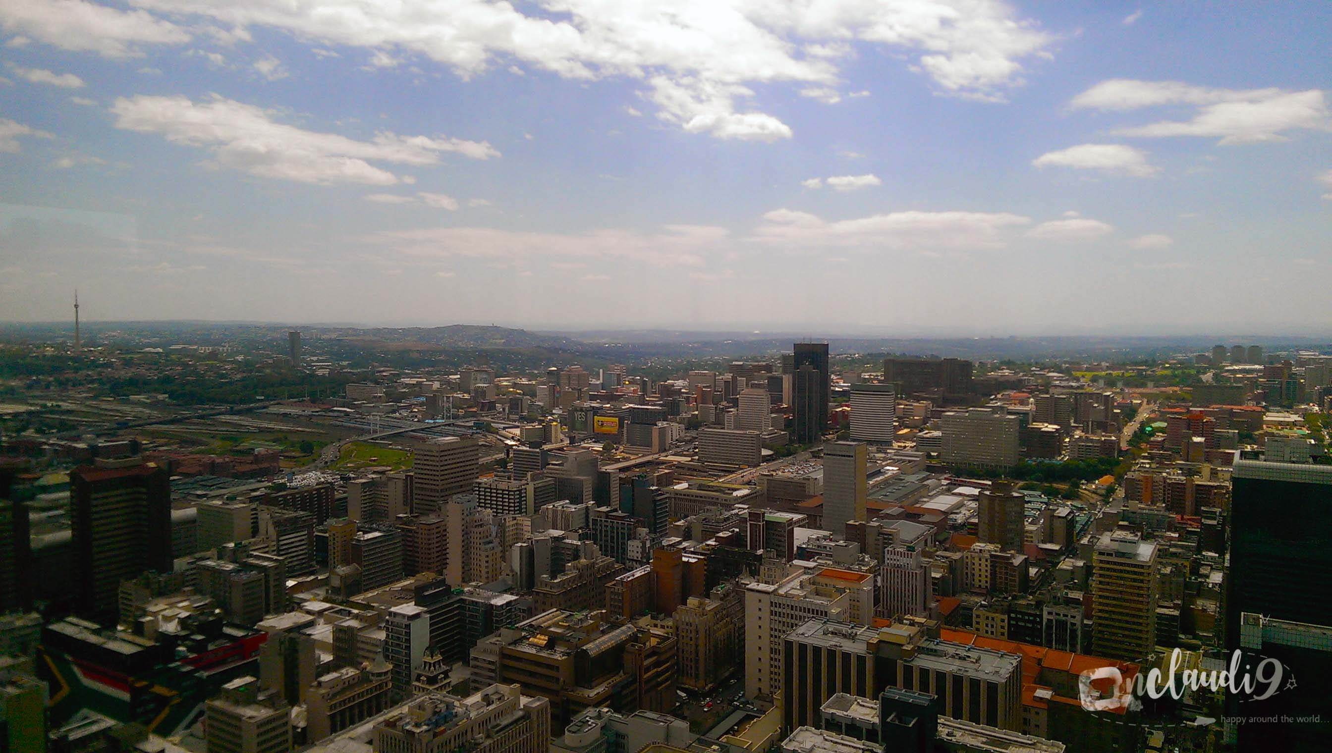 This is Carlton Center in Johannesburg. It is the highest building in the city.