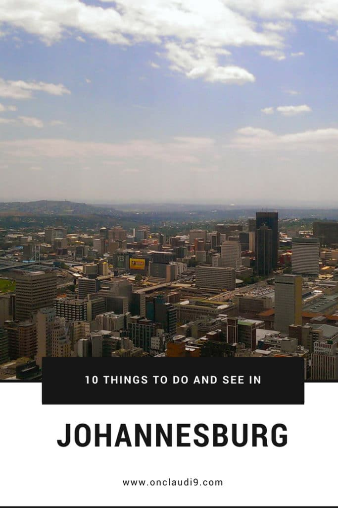 This is Carlton Center, the tallest building in Johannesburg.