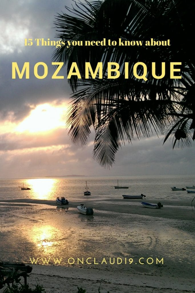 This is the beach of Vilanculos in Mozambique.
