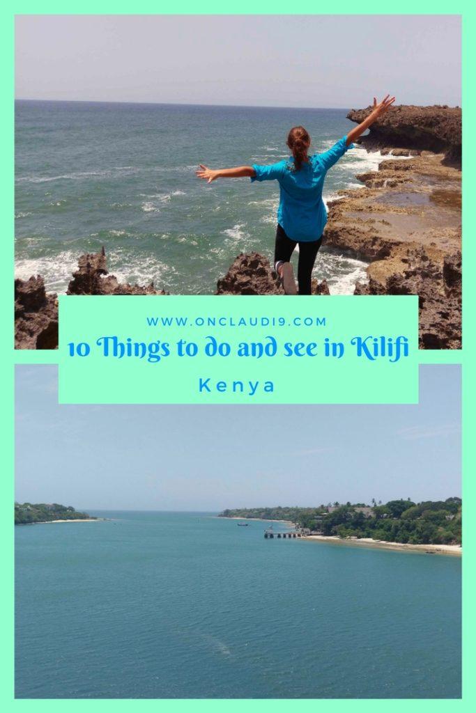 This is Kilifi, a coastal town in Kenya. You can see Bofa Beach and the Kilifi Creek.