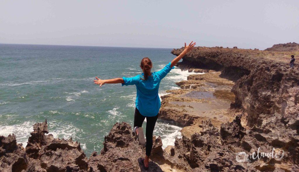 Visit Vuma Cliffs, a spectacular scenery of huge waves crashing against wild rough cliffs