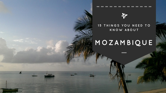 This is the beach in Vilanculos, a beach town in Mozambique.