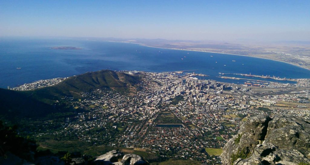 This is Cape Town in South Africa.