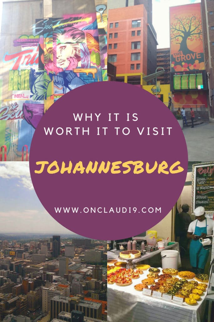 This is Johannesburg in South Africa