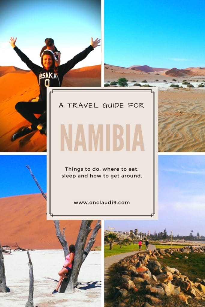 This is a guide for Namibia.