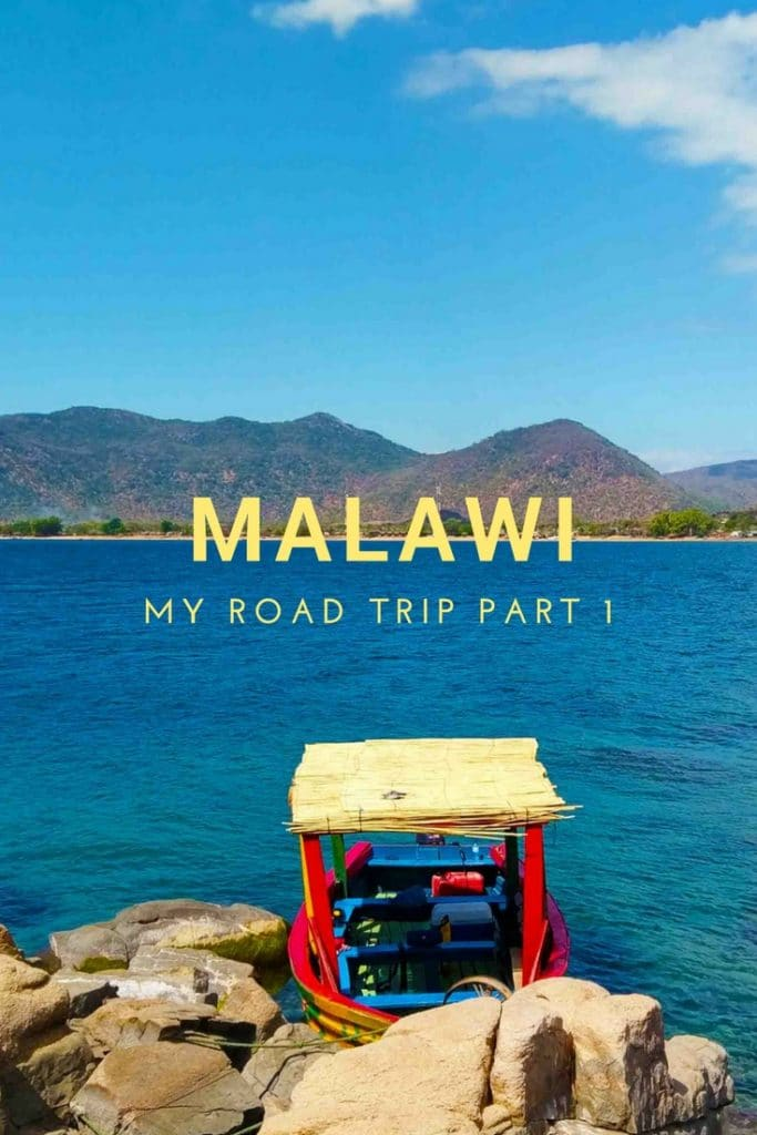 This is the beach of Lake Malawi in Cape Mclear.