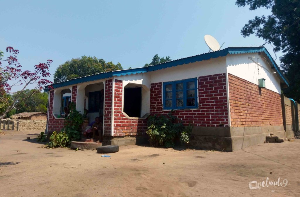 This is the house of locals we made friends with in Kande Beach Malawi.