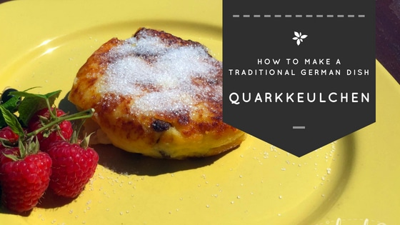 This is how Quarkkeulchen, a common german dish, looks like when they are ready to eat.